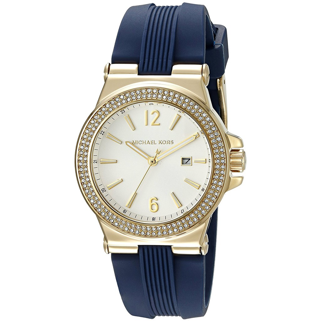 91758b488445 Michael Kors MK5623 Gold Tone Glitz Mini Dylan Watch