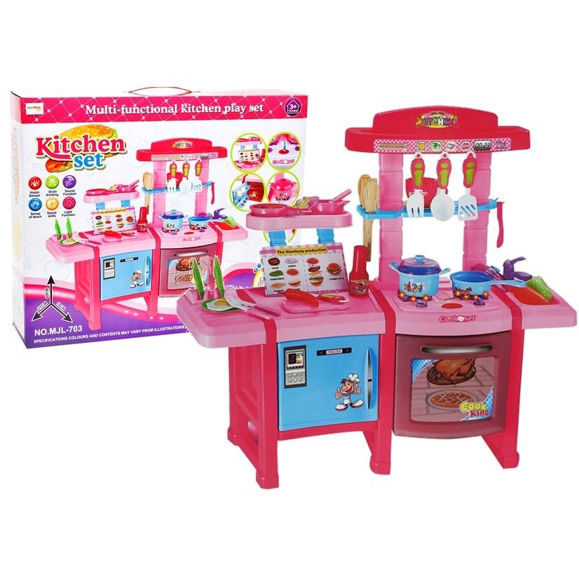 Stv 703 Kitchen Set Toy For Kids Shopee Philippines