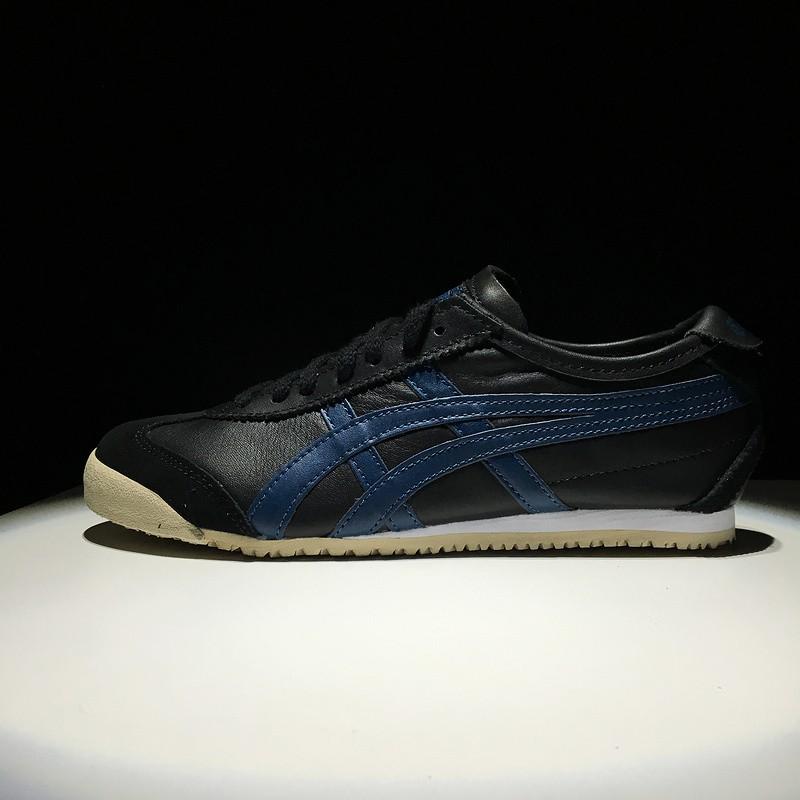 onitsuka tiger mexico 66 black blue usa 40