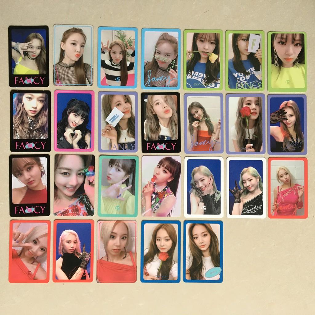 OFFICIAL Jihyo Nayeon Jeongyeon Momo Sana Mina Dahyun Chaeyoung Tzuyu PHOTOCARD