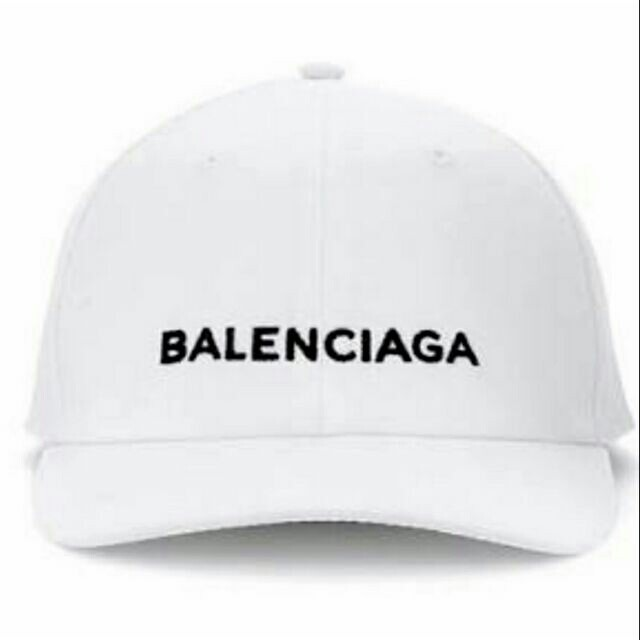Planeta La Iglesia Adversario  Balenciaga hat white | Shopee Philippines