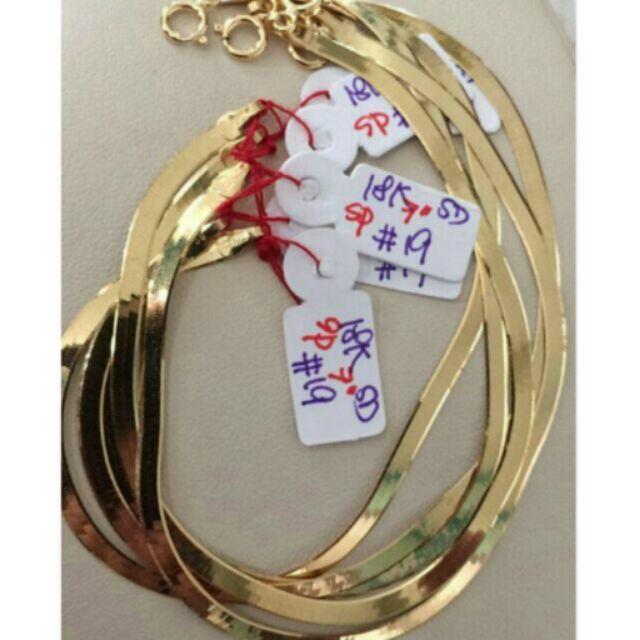 18k Saudi Gold Omega Flat Bracelet Price Per Gram Shopee Philippines