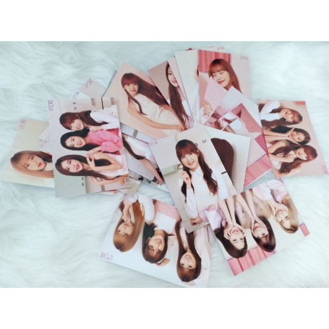 30PCS KPOP IZONE SECRET TIME LOMOCARDS/PHOTOCARDS
