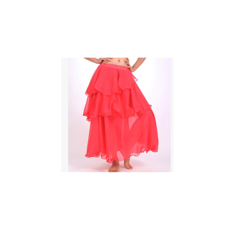 729af36b745 YG*Women Gypsy Skirt Belly Dance Ruffle Flamenco Jupe Long Maxi Skirt |  Shopee Philippines