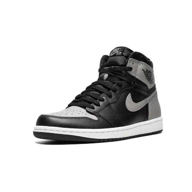 the latest adb78 15004 Air Jordan 1 Shadow AJ1 Cool Grey Joe 1OG Black Grey Shadow Men's and  Women's Basketball Shoes 55508