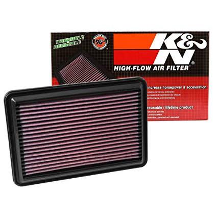 K/&N 33-2104 Replacement Panel Air Filter for Honda Civic//CR-V//HRV
