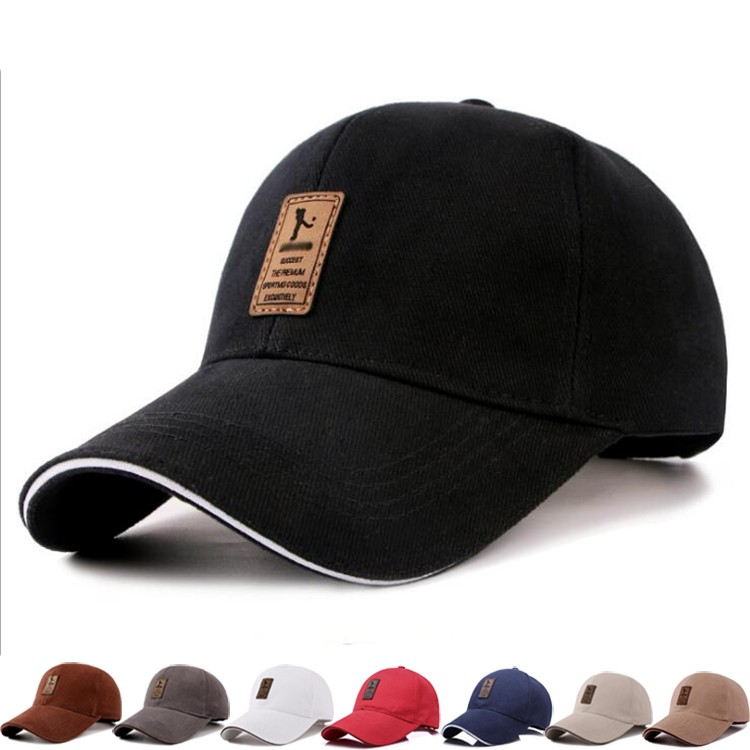 d20b3e02903531 Unisex Suede Baseball Cap Curved Brim Hat Outdoor Sports Hat | Shopee  Philippines