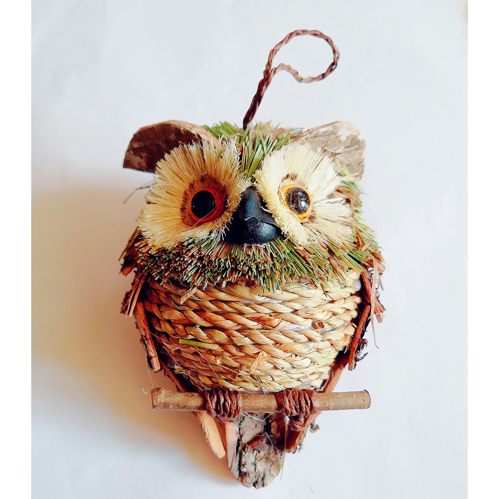 Owl Decor Straw Crafts For Home Farmhouse Interesting Wall Decor And Wall Decorations For Living Room Holiday Decorations Shopee Philippines