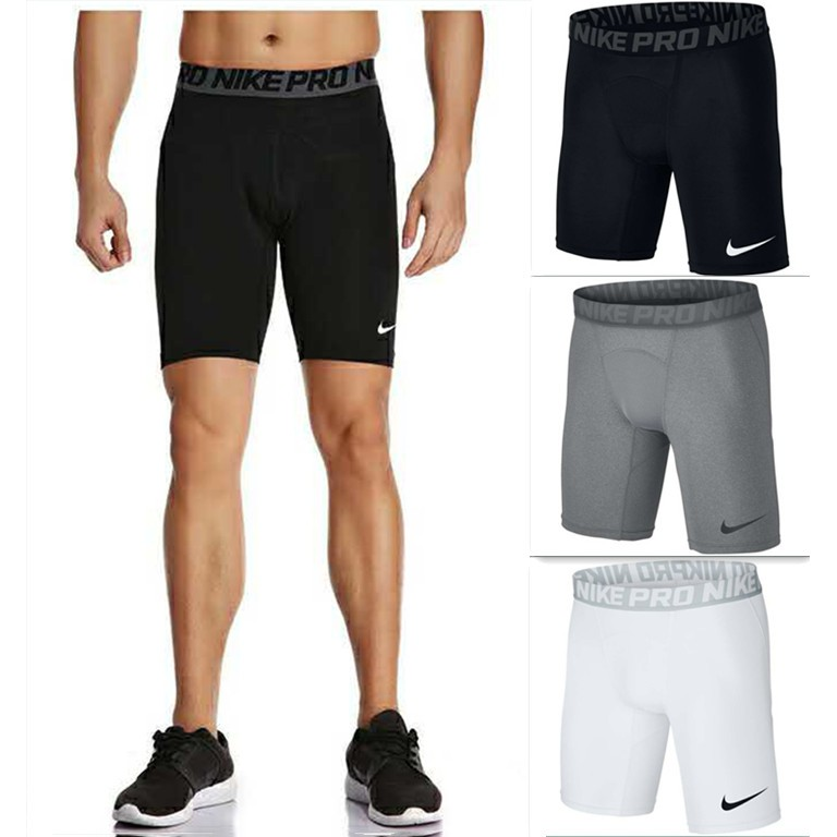 Simular dejar Subtropical  Nike Pro Combat Compression Tights Cycling shorts   Shopee Philippines