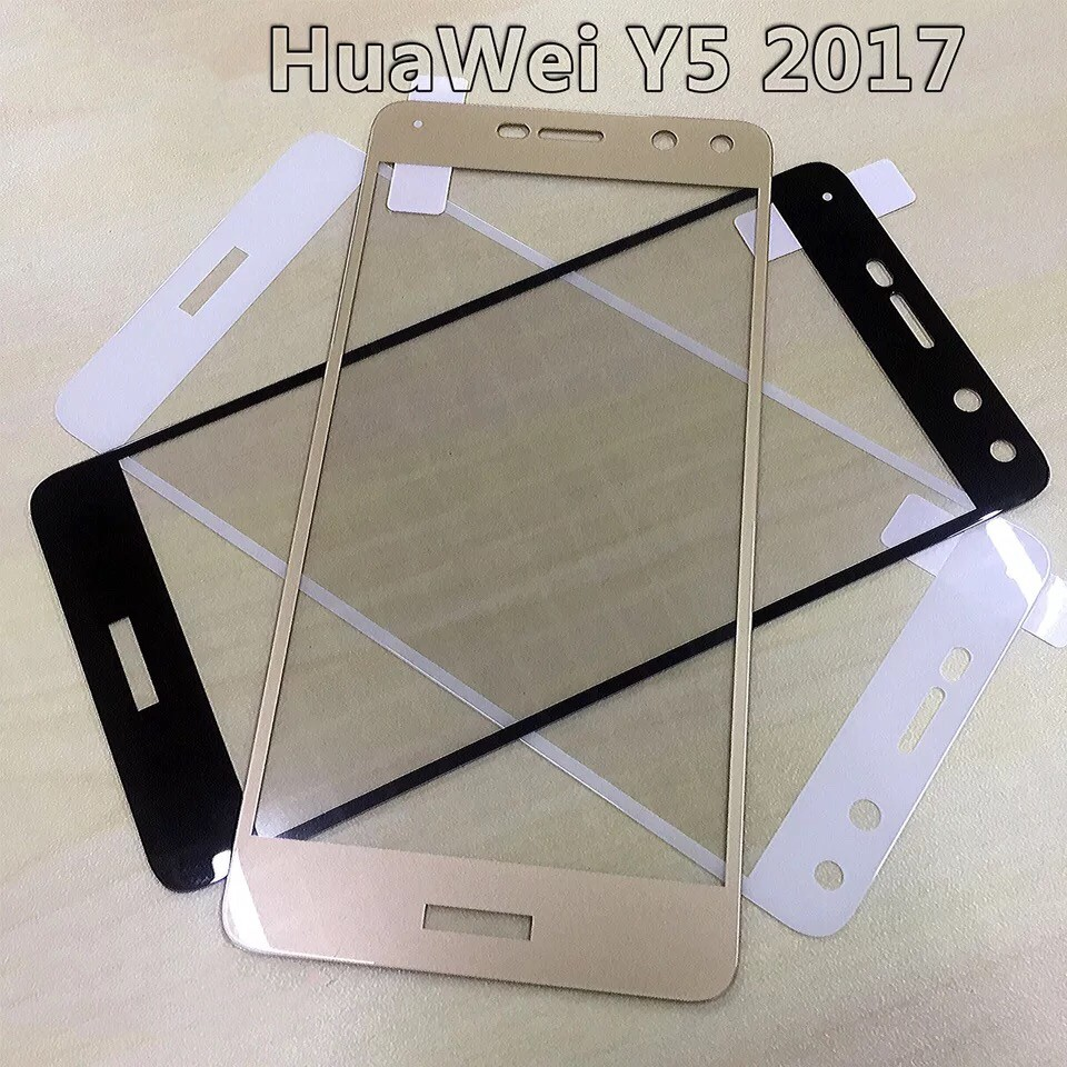 Huawei Y5 2017 Full tempered glass