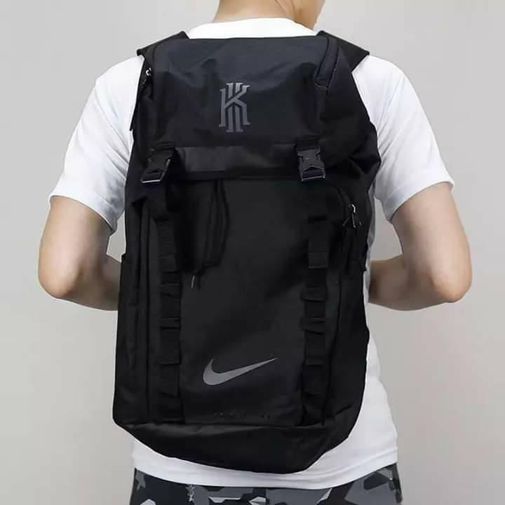 conveniencia Esplendor Respectivamente  Nike Kyrie Irving Uncle Drew Clay Black Men Basketball Backpack | Shopee  Philippines