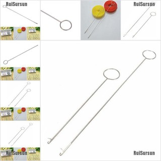 Metal Sewing Loop Turner Hook Latch Turning Fabric Tubes Straps Belts A* Sewing Tools & Supplies