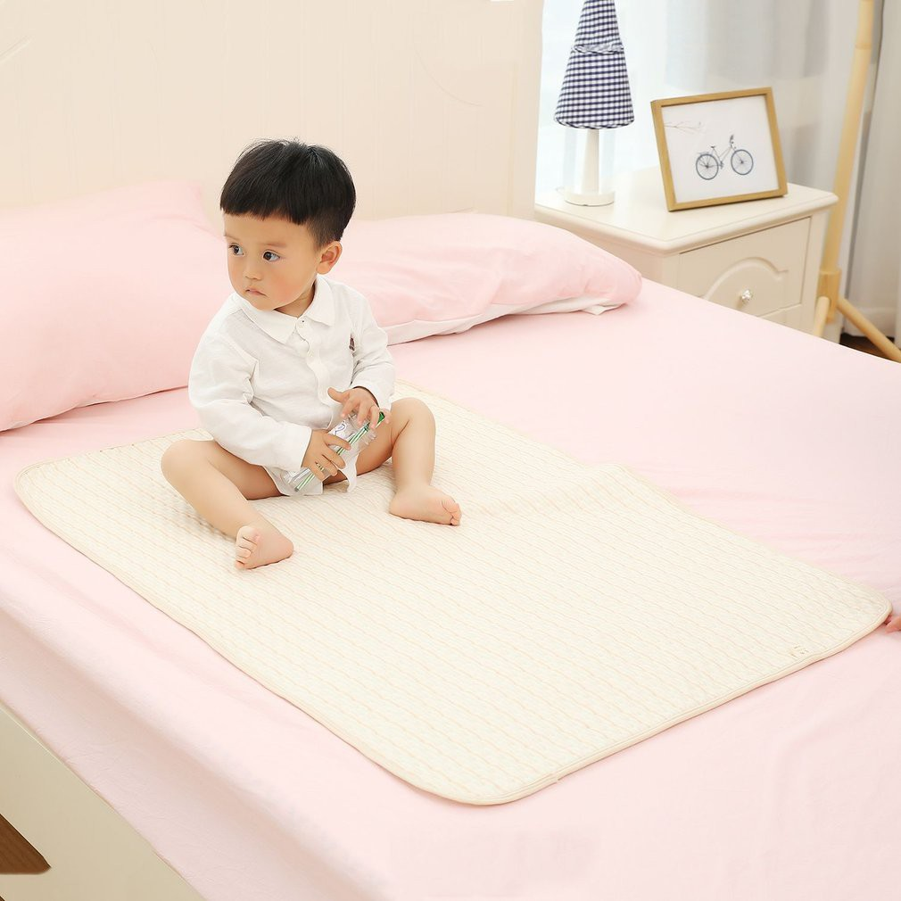 Baby Mattresses For Girls Boys Cartoon Cotton Soft Cute Urine Pad Infant Diaper Waterproof Bedding Changing Cover Pad 2pcs Mattresses
