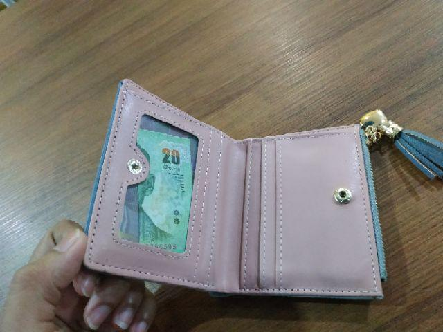 Women's Fashion Purse Wallet Coin Card Holder Soft Leather