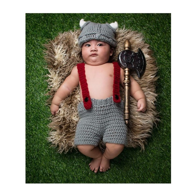 Viking baby costume