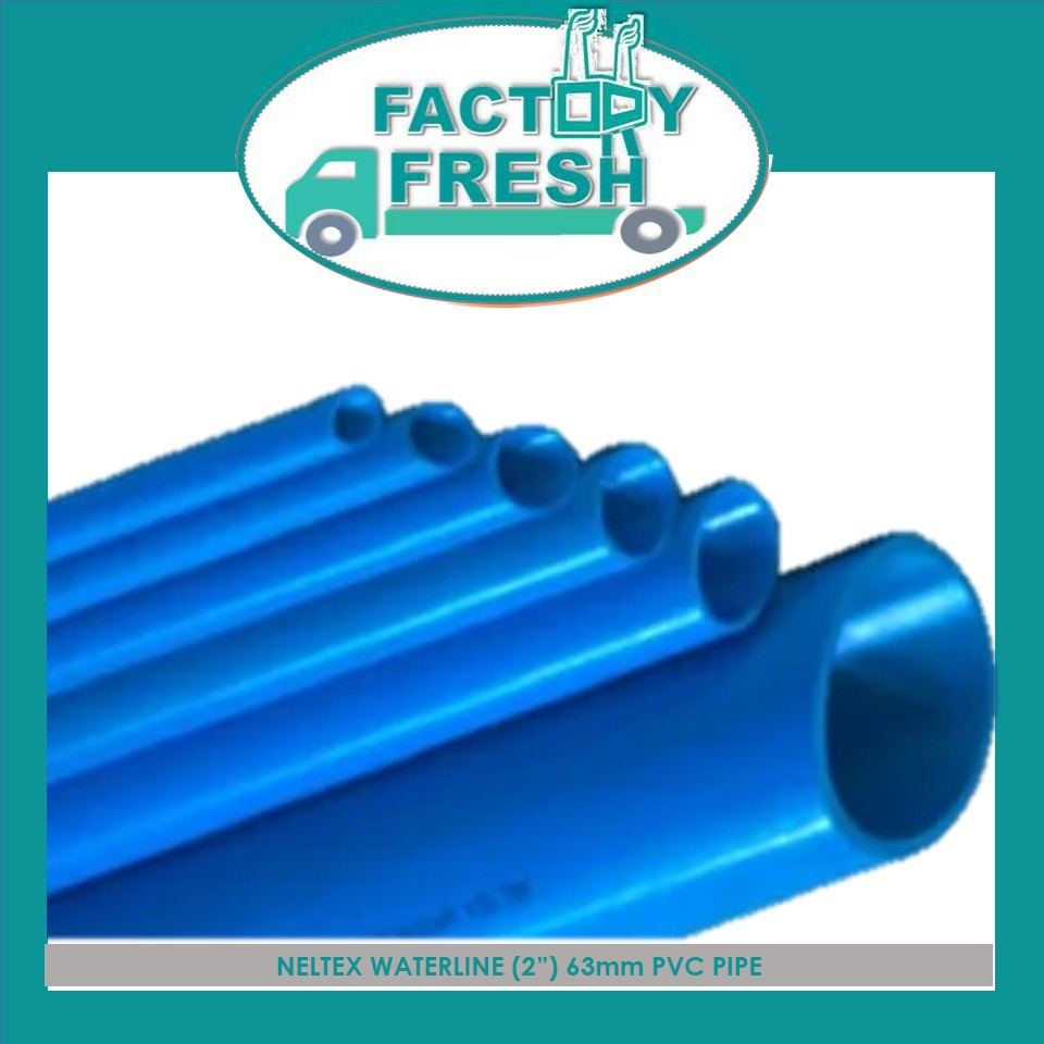 "NELTEX WATERLINE (2"") 63mm PVC PIPE X 3m"