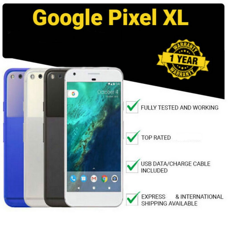 Google Pixel XL 128GB Rom Mobile Phone 4G Cell Phone