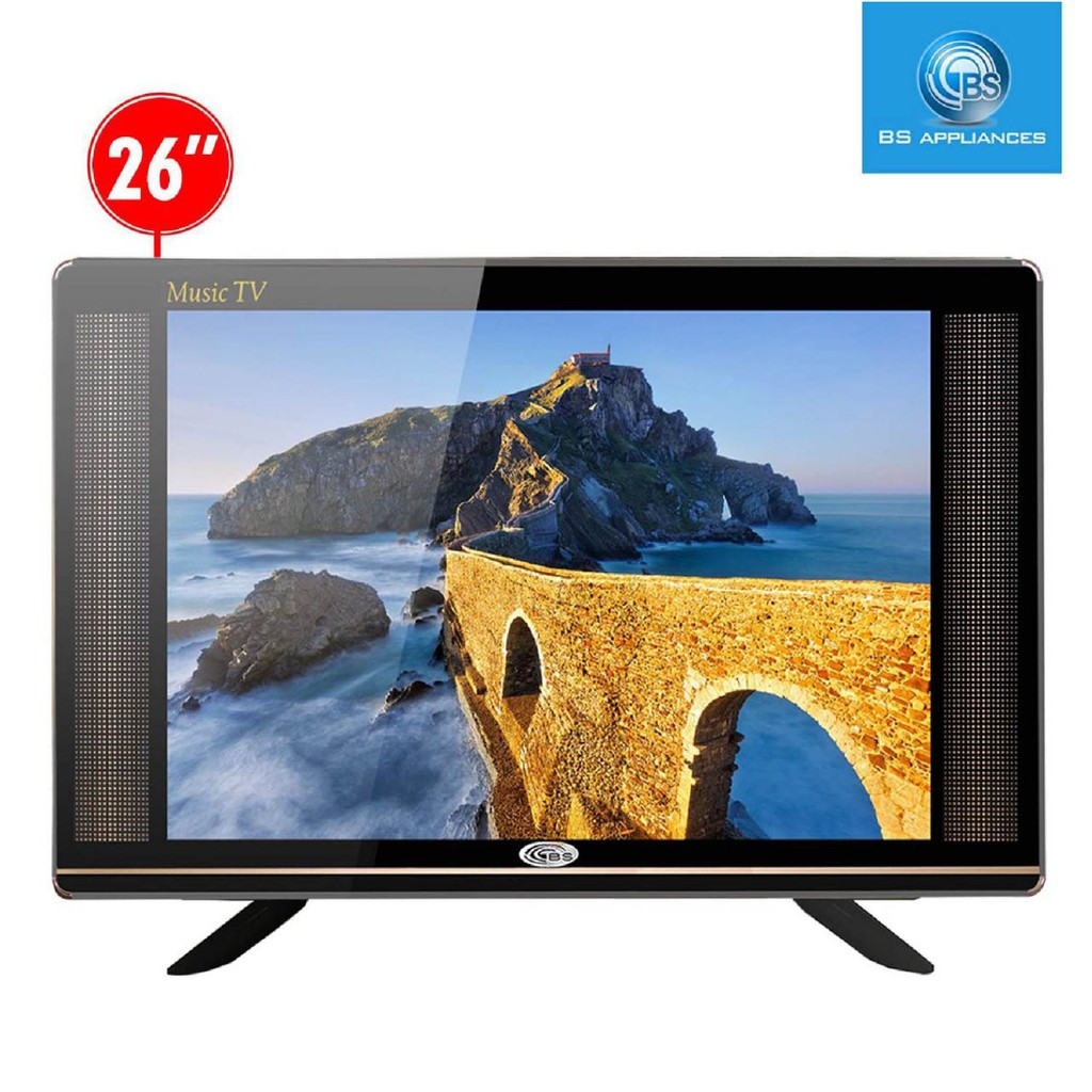 "BS Appliances 26"" SLIM LED MUSIC TV"