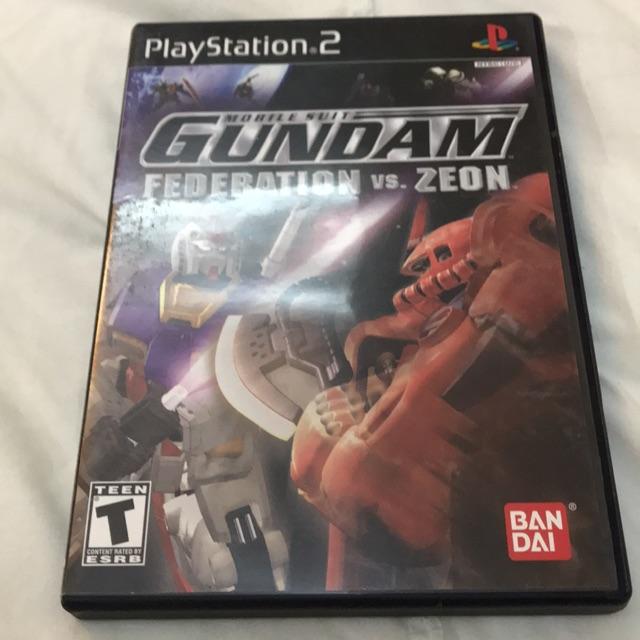Gundam Federation vs Zeon PS2
