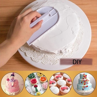 Cake Decorating Smoother Polisher Fondant Spatulas Tool