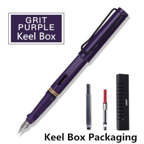 NEW Safari Fountain Pen Special LILAC Pen School Business Office Matte Color