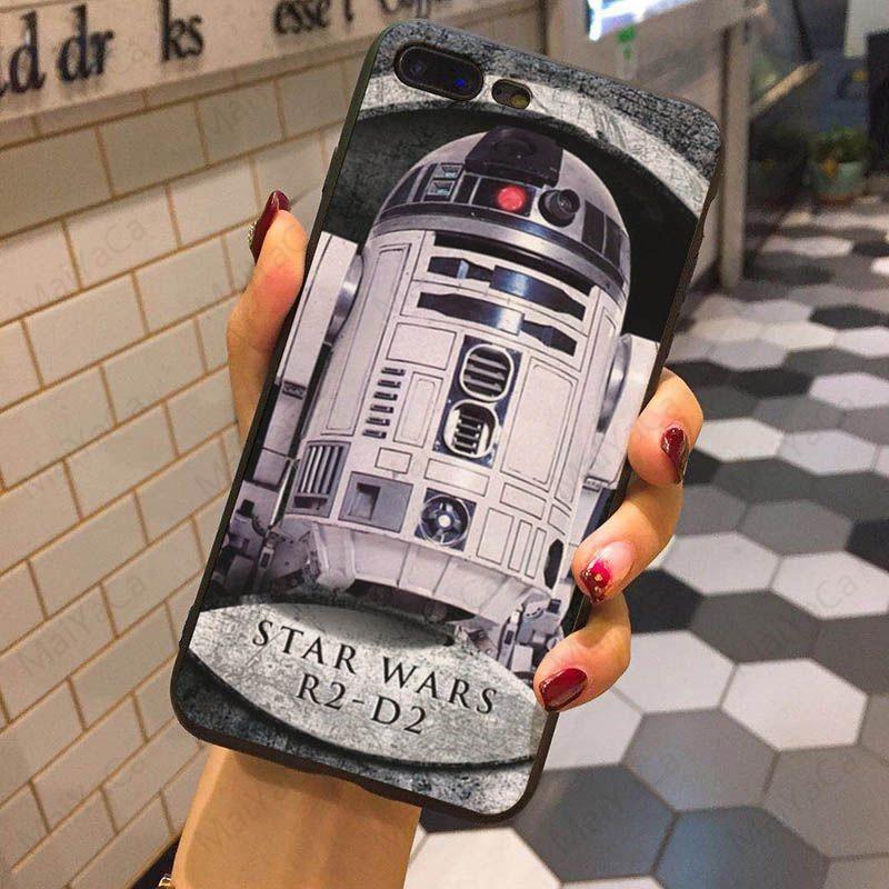 star wars R2D2 Phone Case iPhone X 8 7 6S Plus 5S