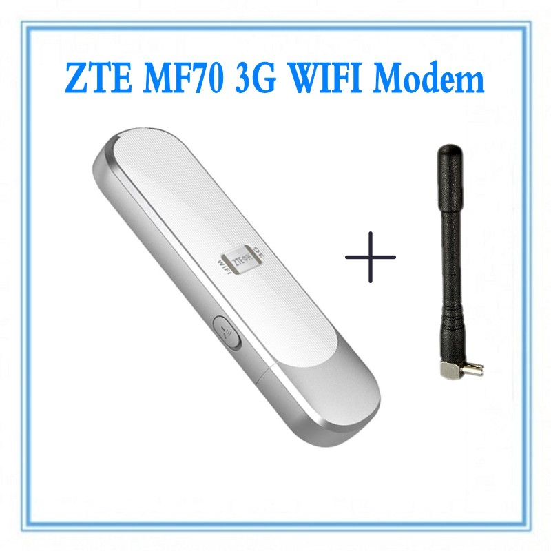 ZTE MF70 21 6M HSPA+ 3G USB wifi Router unlocked