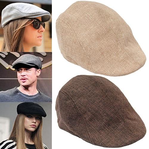 97b797b0edbcd  COD  Men Peaked Cap Flat Hat Beret Hats Cabbie Newsboy Country Golf Style