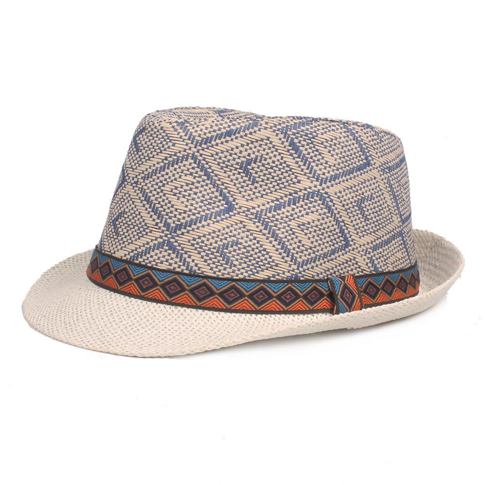 Vintage top hat jazz hat casual sunhat for men  6ac95ca05e4