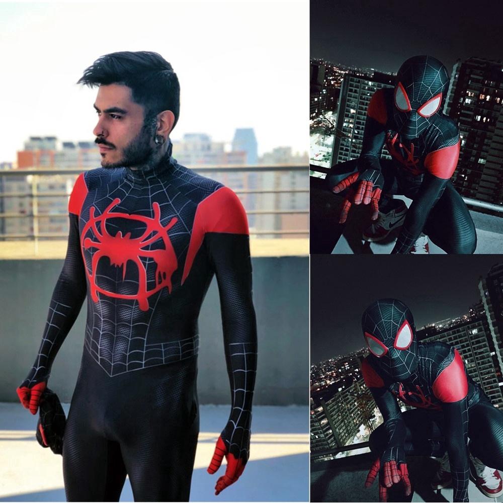 RAIMI Spiderman Marvel Costume 3D Printed Spandex Zentai Suit Christmas Cosplay