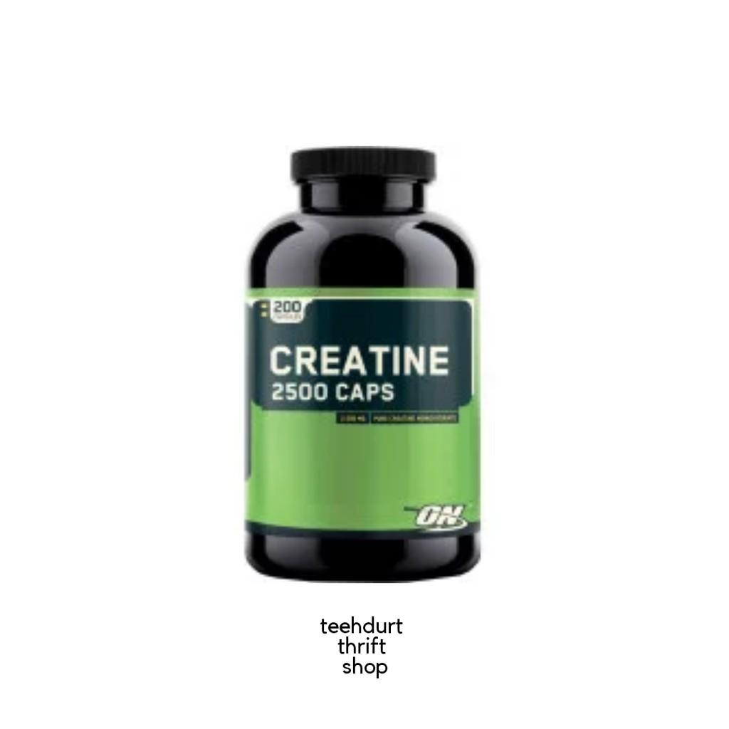 Optimum Nutrition Creatine 2500 Caps - 100 Capsules  08eff715f17