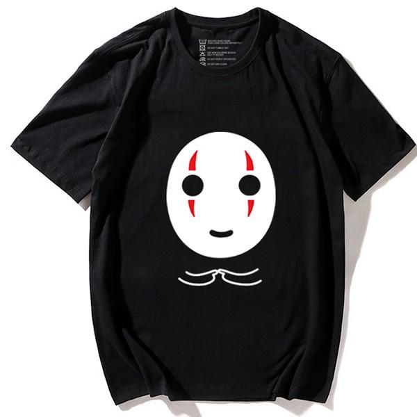 Hayao Miyazaki Spirited Away No Face Male Anime Emoji T Shirt T Shopee Philippines