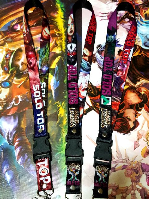 League of legends Lanyards / ID Lace | Shopee Philippines