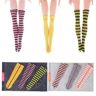 3Pairs Socks Lace Stocking For Licca Azone s Blythe 1//6 Doll Accessory NIUS