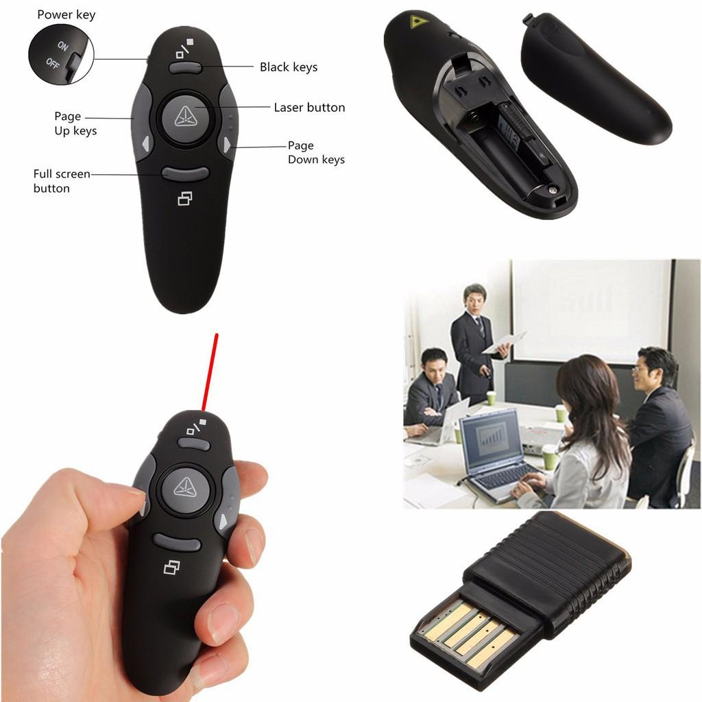 Cod Pp 1000 Wireless Presenter Powerpoint Ppt Laser Pointer Shopee Pp1000 Philippines