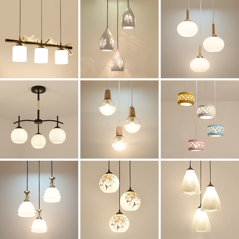 3 Heads Dining Room Chandelier Ceiling Lights Modern Fashion Pendant Led Living Room Lamp Shopee Philippines