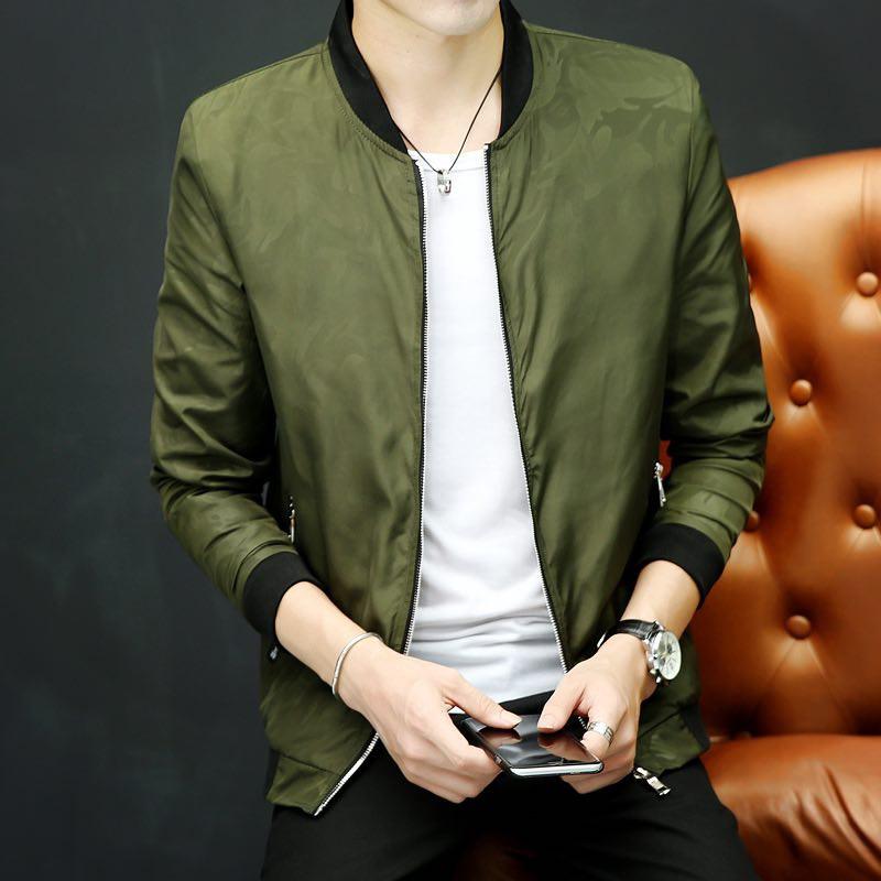 YUNY Women Long-Sleeve Solid Over Sized Pockets Skinny Lapel Blazer Jackets Green M