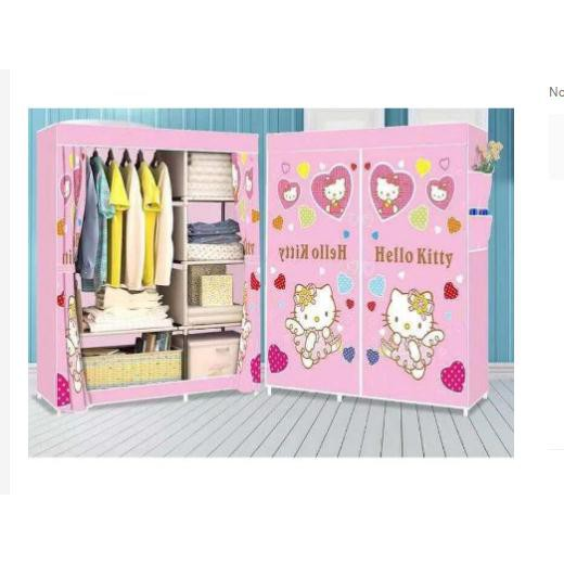 311efed05 DIY hello kitty bedroom bedside cabinet small cabinet | Shopee Philippines