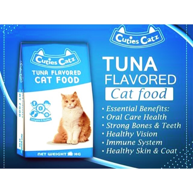Cuties Catz Cat Food Tuna Flavor