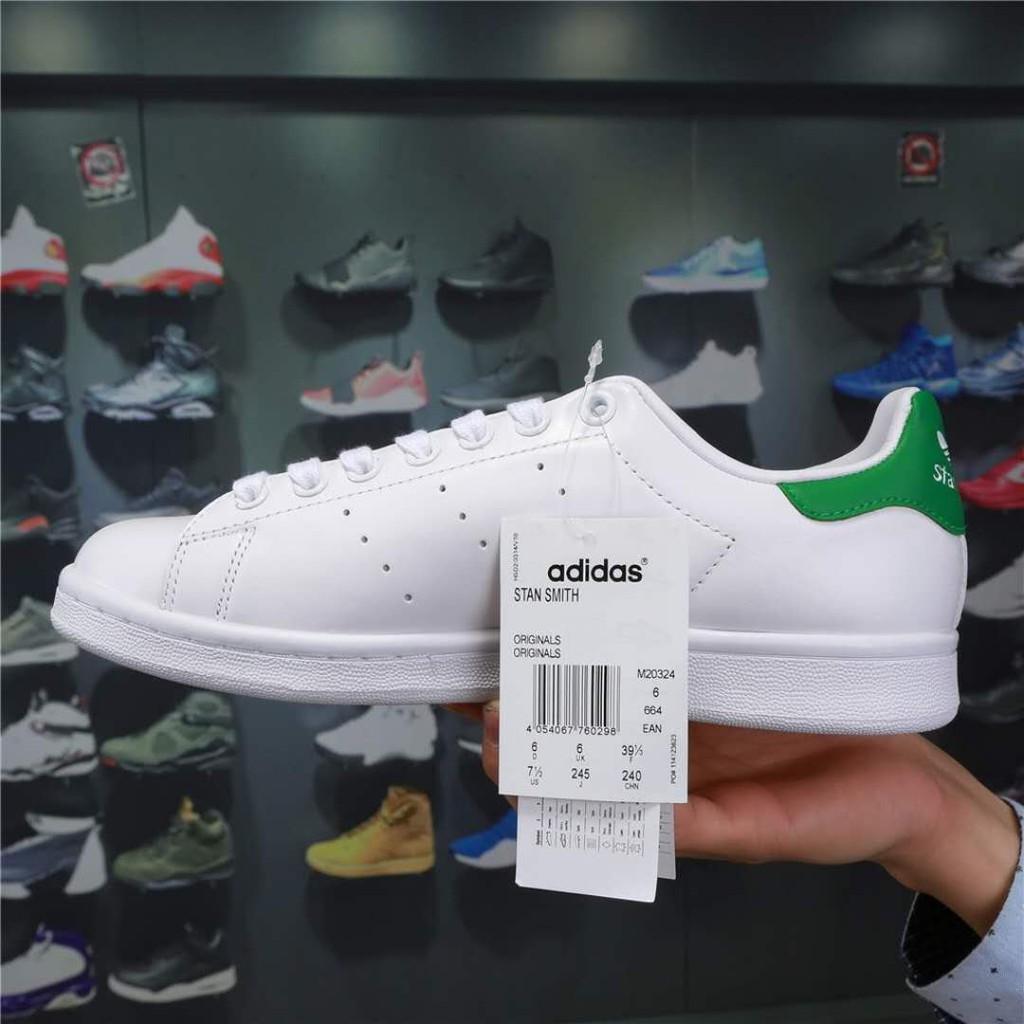 hot sale online 08fbd 80a78 ADIDAS ORIGINALS STAN SMITH M20324 White Green