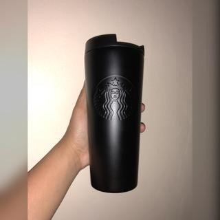 Authentic Starbucks Matte Black Stainless Steel Tumbler