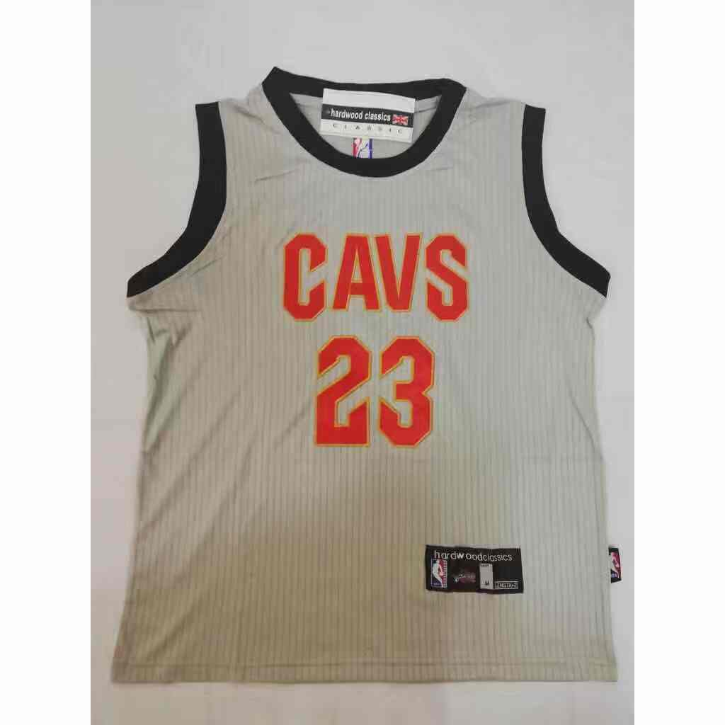 The Land LeBron James  23 Jersey Gray 2018 NBA Finals  bfe1fc5a3