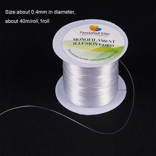 130m 0.2mm Crystal Clear Nylon Thread Fishing Line Wire for Jewelry Craft Making