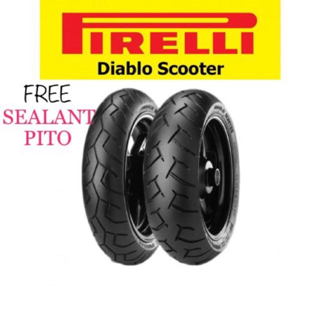 Pirelli Tires Price >> Pirelli Diablo Scooter Rim 14 With Free Sealant And Pito