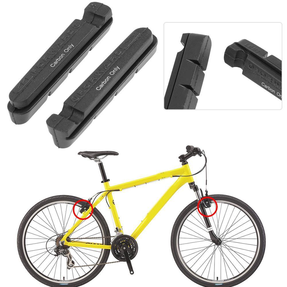Bicycle Road Bike C Brake V Brake Drawer Carbon Fiber Rim Brake Pad Brake Rubber