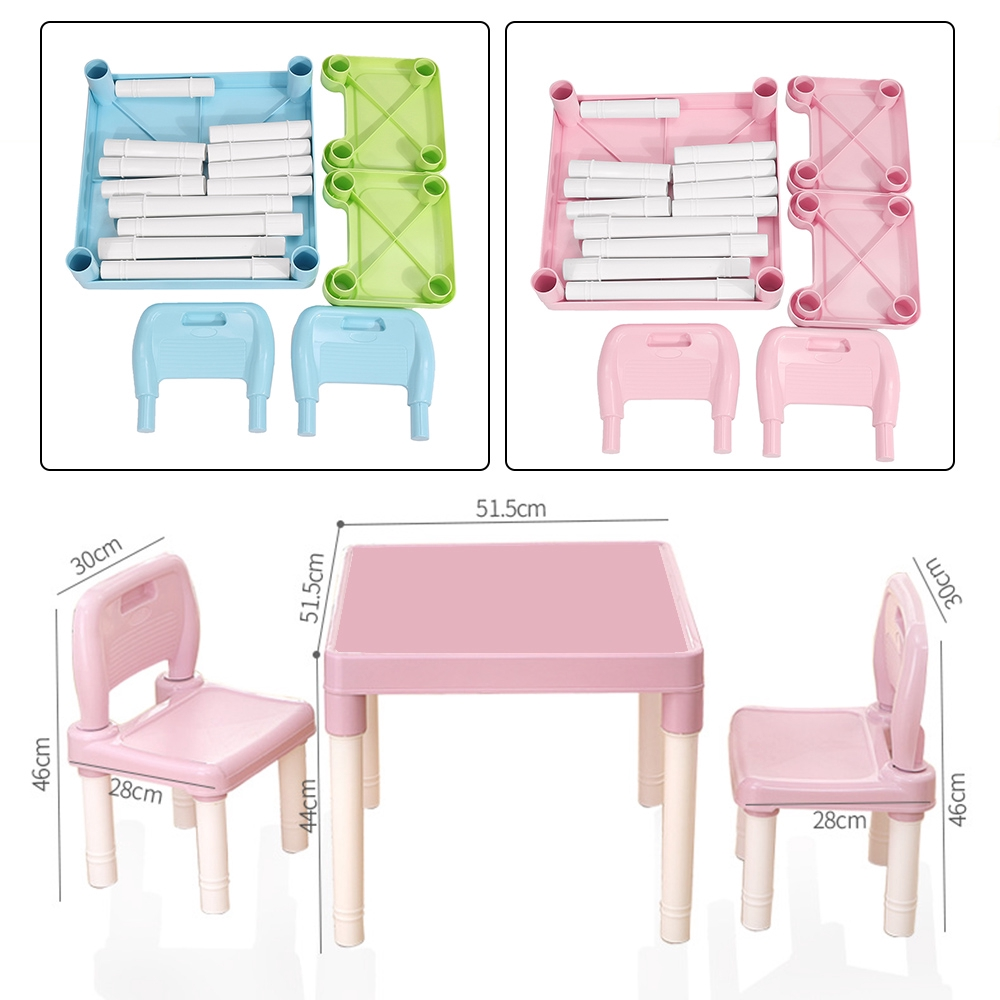 Chairs Set For Children Kid Study Table