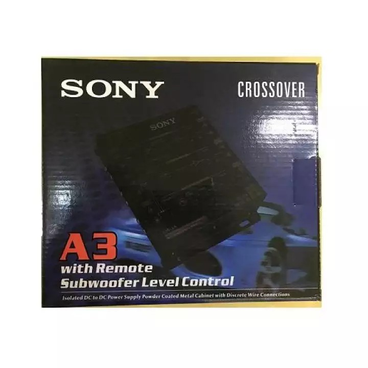 Sony A3 Crossover with Remote Subwoofer level control