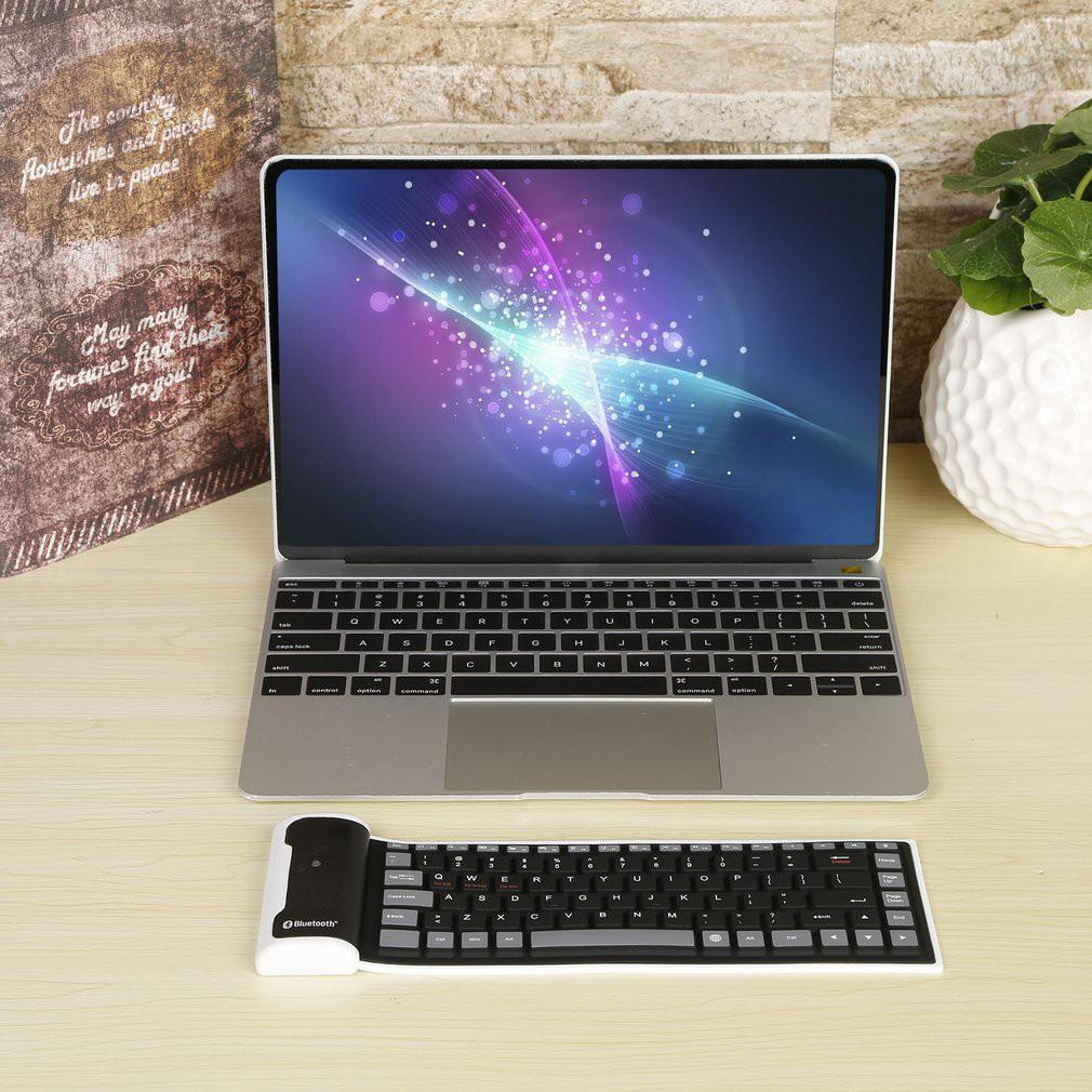 ۞☼❤ New Flexible Silicone Wireless Bluetooth Mini Keyboard