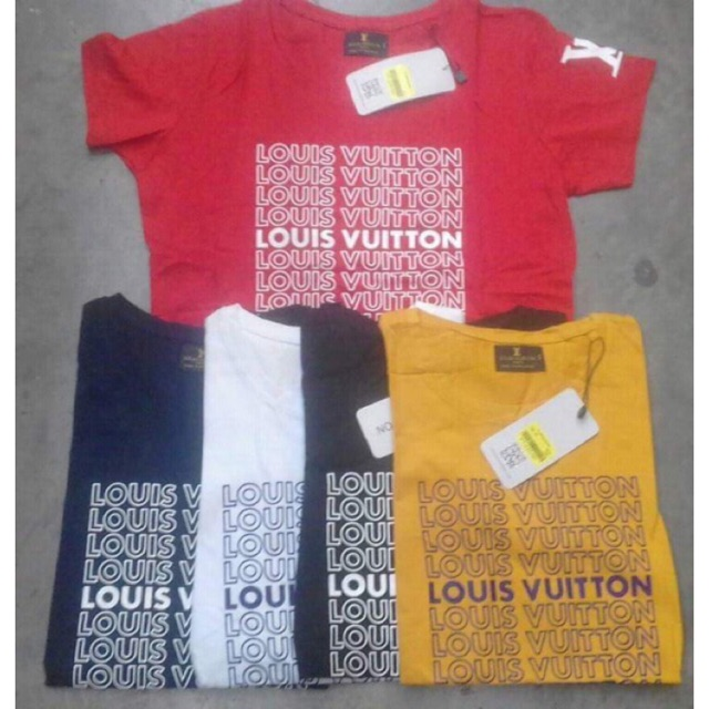 b97dd30570b9 Supreme X LV short-sleeved couple T-shirt | Shopee Philippines
