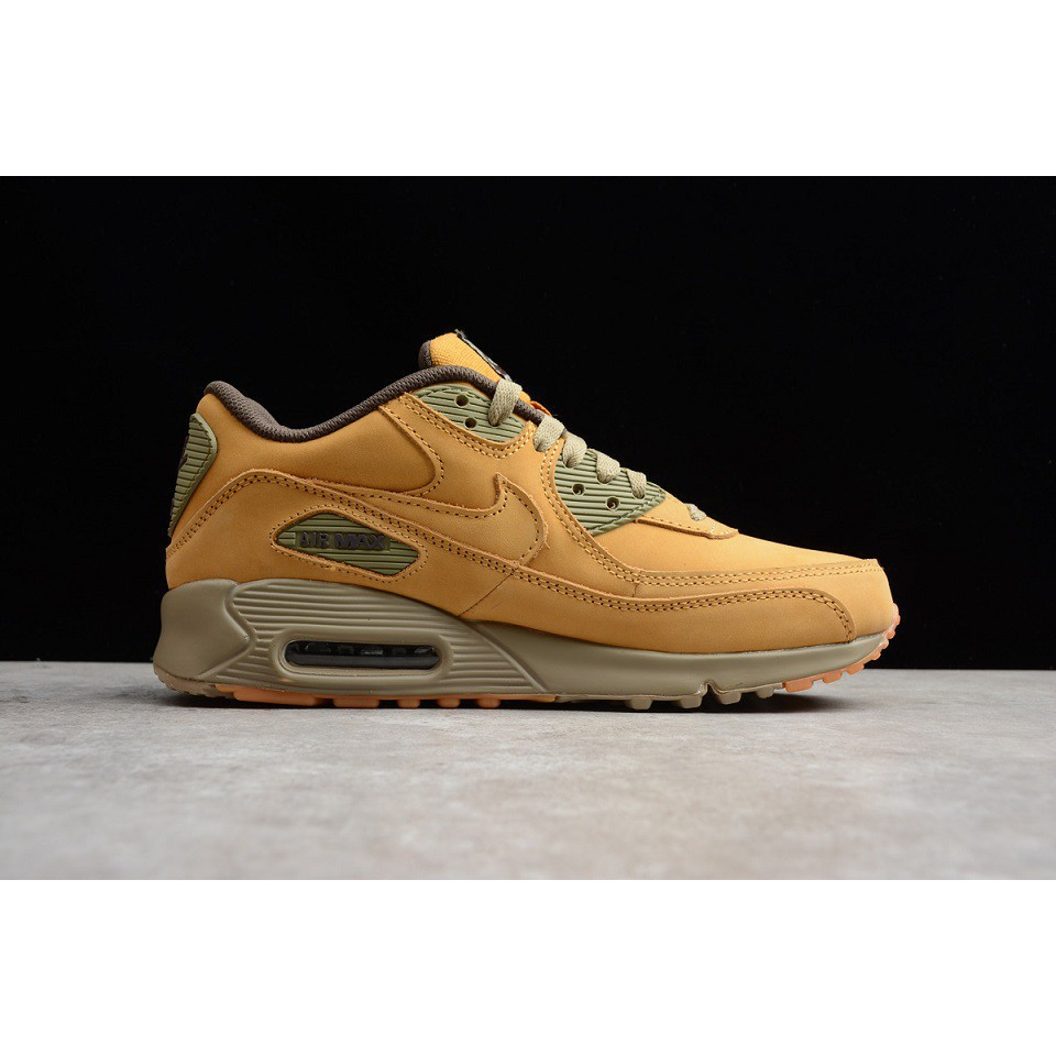 Especializarse Recurso jalea  Ready Stock】Original brand new nike air max 90 wheat brown color men  running shoe40-44 | Shopee Philippines
